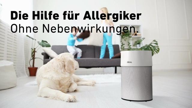 Ideal - Luftreiniger - Die Hilfe für Allergiker Video 9