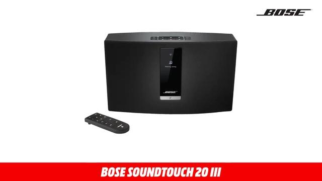 66060 SOUNDTOUCH 20 III SCHWARZ Video 7