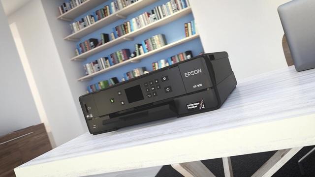 EPSON - Expression Premium XP 900 Multifunktionsdrucker Video 3