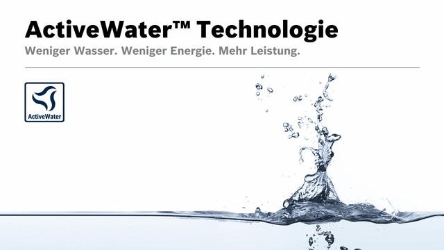 Bosch - ActiveWater Technologie Video 5