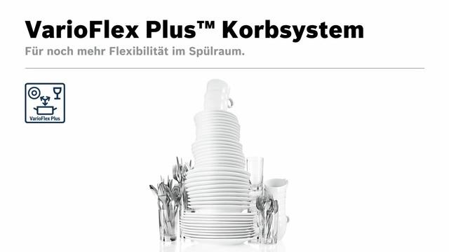 Bosch - VarioFlex Plus Korbsystem Video 8