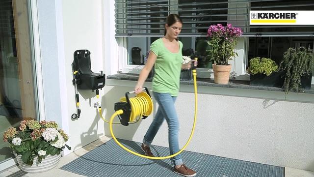 Watering Systems - Premium hose Reel HR 7.315 Video 19