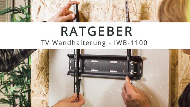 ISY - TV-Wandhalterung IWB-1100 Video 3