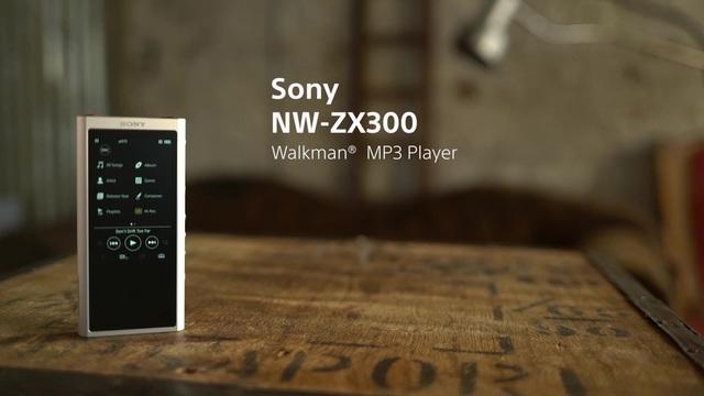 Sony - NW-ZX300 Walkman Video 3