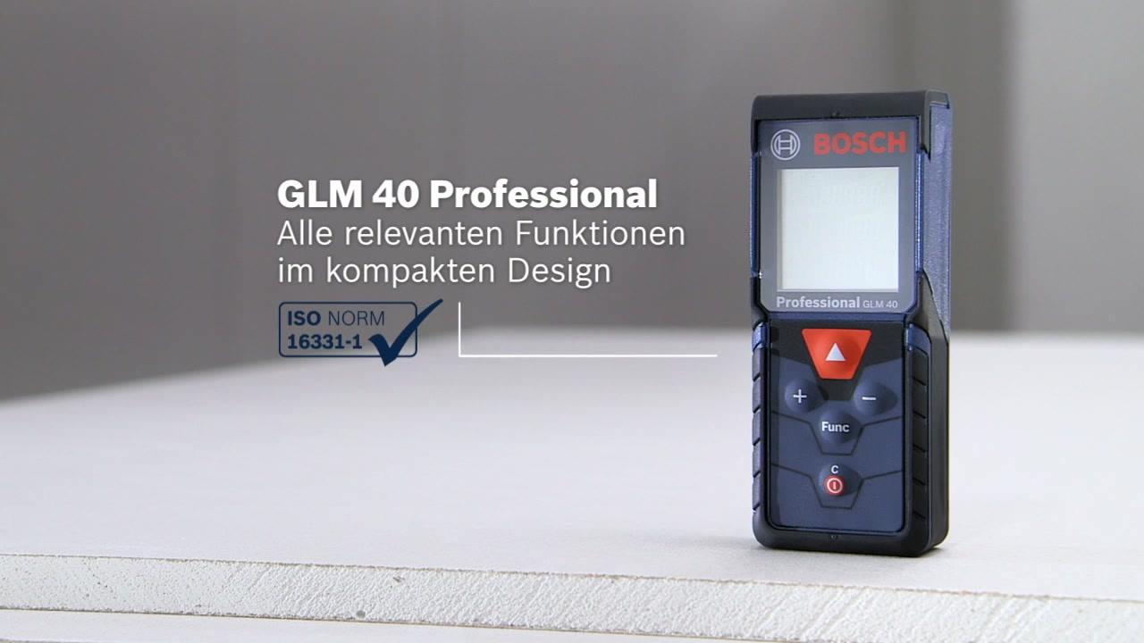 Bosch Entfernungsmesser Dle 40 : Glm laser entfernungsmesser bosch professional