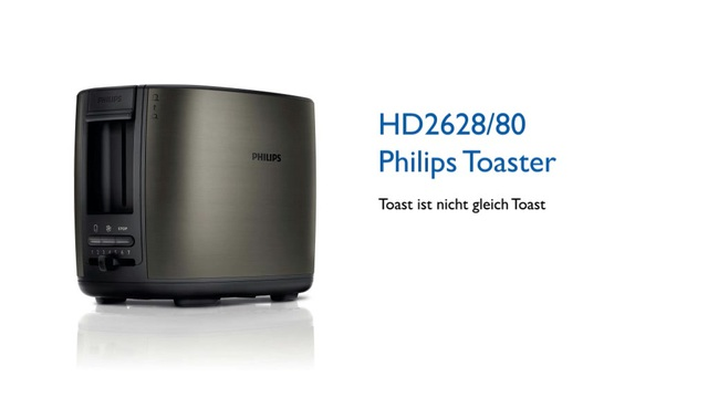 Philips Toaster HD2628/80 Video 3