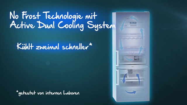 Beko - No Frost Technologie mit Active Dual Cooling Video 5