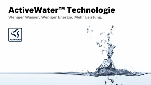 Bosch - ActiveWater Technologie Video 9