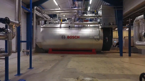 40 tonnes of steam for the largest oil refinery in Denmark