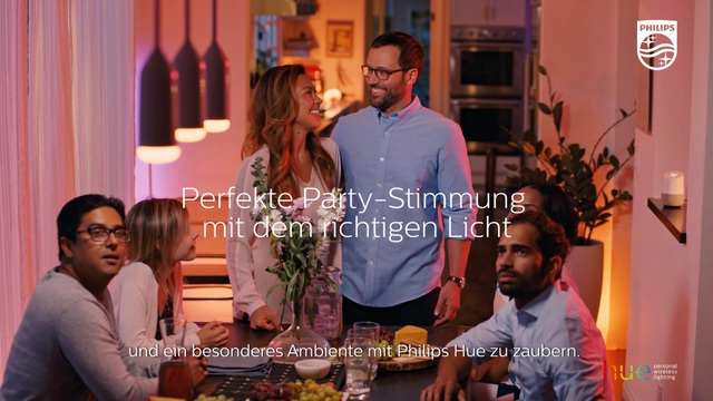 Philips - Hue - Dinner Party Video 18