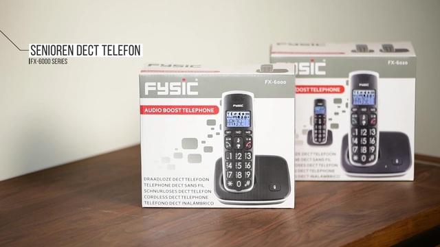 Fysic - Senioren DECT Telefone FX-6000 Serie Video 3