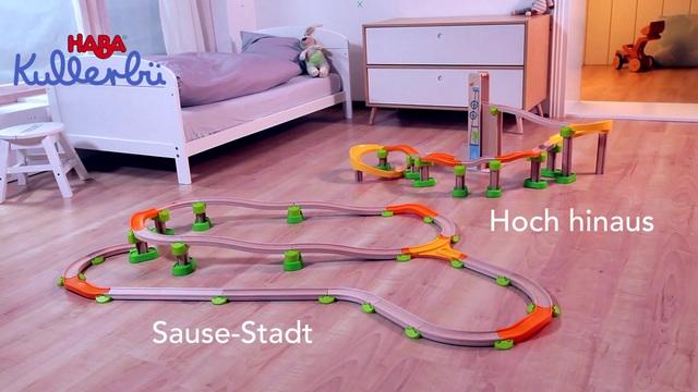 HABA Kullerbü Hochhinaus Sausebahn (deutsch)