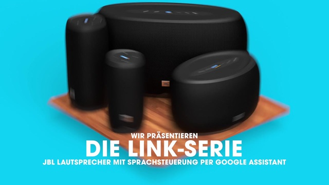 JBL by harman - Link Serie mit Google Assistant Video 3