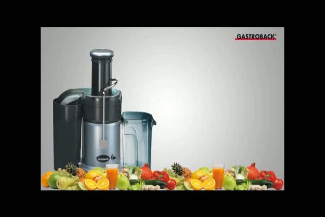 Gastroback - Design Juicer (10123) Video 3