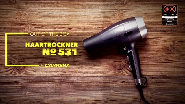 CARRERA - Haartrockner No531 Video 3