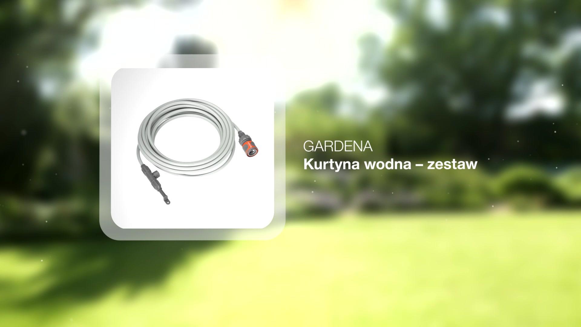 Gardena Micro Drip System Kurtyna Wodna Gardena Zestaw