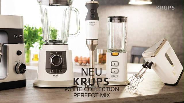 Krups - White Collection Perfect Mix Video 2