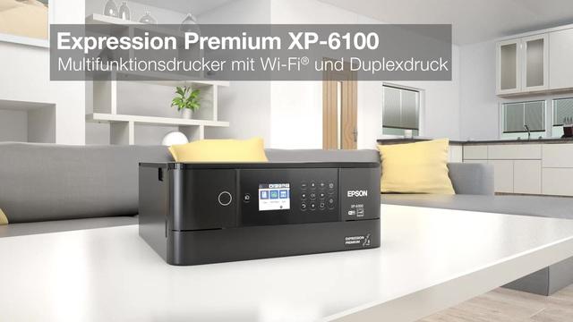 Epson - Expression Premium XP-6100 Video 2