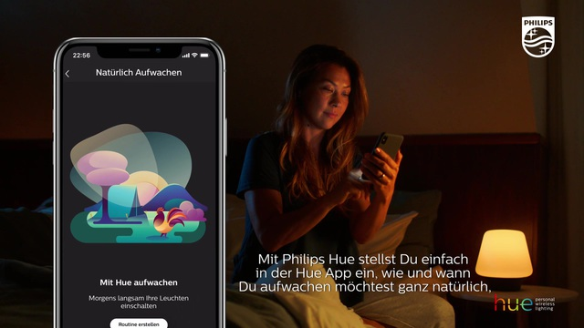 Philips - Hue - Wake Up Video 7
