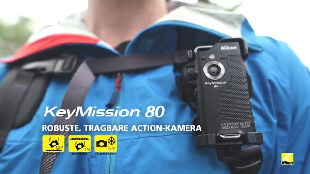 Nikon - KeyMission 80 Actioncam Video 3