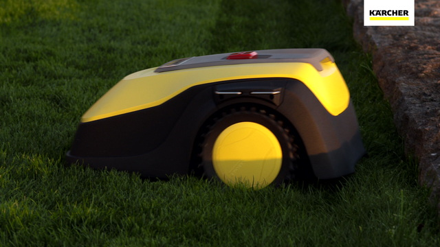 Robotic Lawn Mower RLM 4 - How it works Video 37